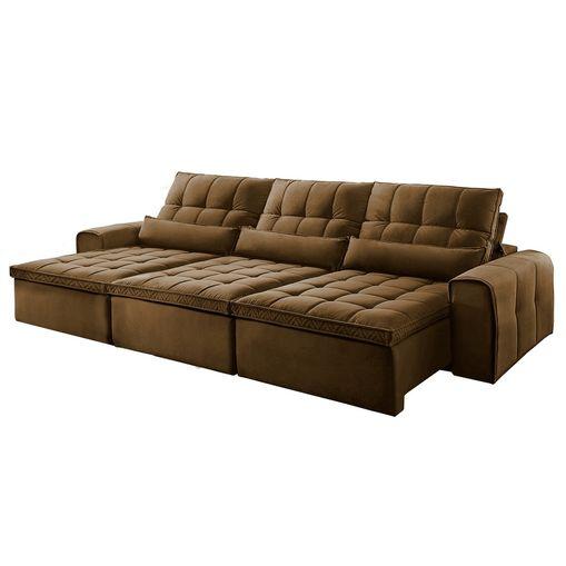 Sofa-Retratil-e-Reclinavel-5-Lugares-Marrom-350m-Bayonne