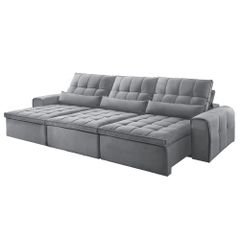 Sofa-Retratil-e-Reclinavel-5-Lugares-Cinza-350m-Bayonne