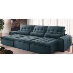 Sofa-Retratil-e-Reclinavel-6-Lugares-Azul-380m-Bayonne---Ambiente