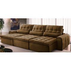 Sofa-Retratil-e-Reclinavel-6-Lugares-Marrom-380m-Bayonne---Ambiente