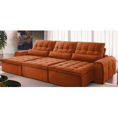 Sofa-Retratil-e-Reclinavel-6-Lugares-Ocre-410m-Bayonne---Ambiente