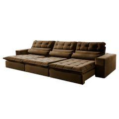 Sofa-Retratil-e-Reclinavel-5-Lugares-Marrom-320m-Renzo
