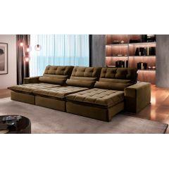 Sofa-Retratil-e-Reclinavel-5-Lugares-Marrom-350m-Renzo---Ambiente