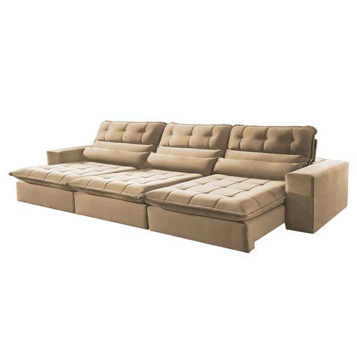 Sofa-Retratil-e-Reclinavel-5-Lugares-Bege-350m-Renzo