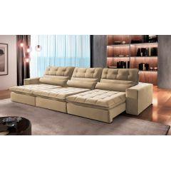 Sofa-Retratil-e-Reclinavel-5-Lugares-Bege-350m-Renzo---Ambiente