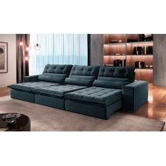 Sofa-Retratil-e-Reclinavel-6-Lugares-Azul-380m-Renzo---Ambiente