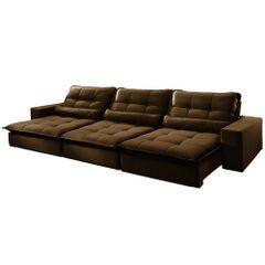 Sofa-Retratil-e-Reclinavel-5-Lugares-Marrom-320m-Nouvel