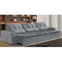 Sofa-Retratil-e-Reclinavel-6-Lugares-Cinza-380m-Bjarke---Ambiente