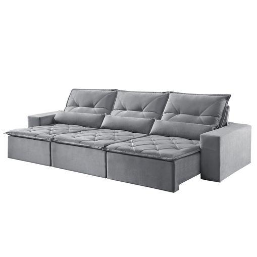 Sofa-Retratil-e-Reclinavel-6-Lugares-Cinza-380m-Reidy
