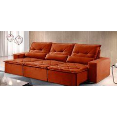 Sofa-Retratil-e-Reclinavel-6-Lugares-Ocre-380m-Reidy---Ambiente