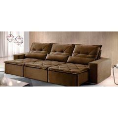 Sofa-Retratil-e-Reclinavel-6-Lugares-Marrom-410m-Reidy---Ambiente