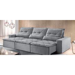 Sofa-Retratil-e-Reclinavel-6-Lugares-Cinza-410m-Reidy---Ambiente