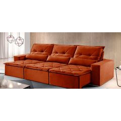 Sofa-Retratil-e-Reclinavel-6-Lugares-Ocre-410m-Reidy---Ambiente