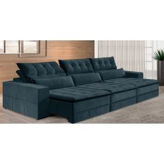 Sofa-Retratil-e-Reclinavel-5-Lugares-Azul-320m-Odile---Ambiente