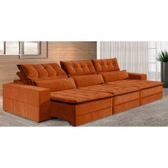 Sofa-Retratil-e-Reclinavel-6-Lugares-Ocre-380m-Odile---Ambiente