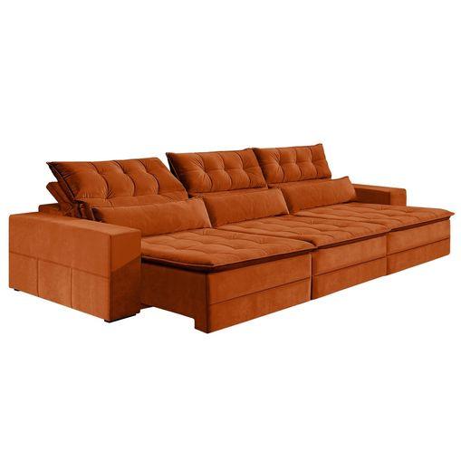 Sofa-Retratil-e-Reclinavel-6-Lugares-Ocre-410m-Odile