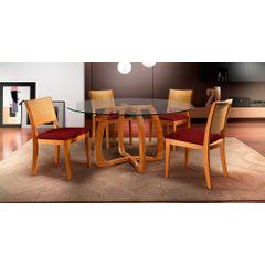 Kit-4-Cadeiras-de-Jantar-Estofada-Bordo-em-Veludo-Arsa---Ambiente