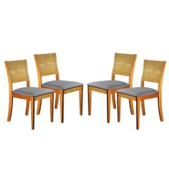 Kit-4-Cadeiras-de-Jantar-Estofada-Cinza-em-Veludo-Arsa