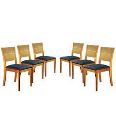 Kit-6-Cadeiras-de-Jantar-Estofada-Azul-em-Veludo-Arsa