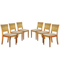 Kit-6-Cadeiras-de-Jantar-Estofada-Bege-em-Veludo-Arsa