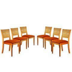 Kit-6-Cadeiras-de-Jantar-Estofada-Ocre-em-Veludo-Arsa