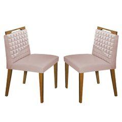 Kit-2-Cadeiras-de-Jantar-Estofada-Rose-em-Veludo-Birlik