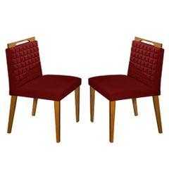 Kit-2-Cadeiras-de-Jantar-Estofada-Bordo-em-Veludo-Birlik