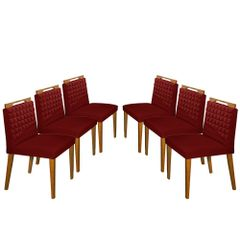 Kit-6-Cadeiras-de-Jantar-Estofada-Bordo-em-Veludo-Birlik