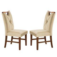 Kit-2-Cadeiras-de-Jantar-Estofada-Bege-em-Veludo-Delik