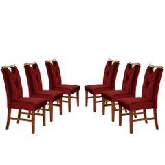 Kit-6-Cadeiras-de-Jantar-Estofada-Bordo-em-Veludo-Delik