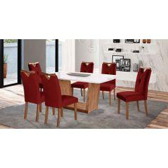 Kit-6-Cadeiras-de-Jantar-Estofada-Bordo-em-Veludo-Delik---Ambiente