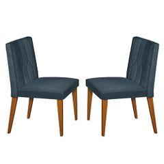 Kit-2-Cadeiras-de-Jantar-Estofada-Azul-em-Veludo-Dizayn