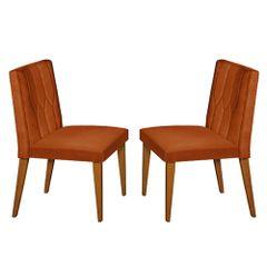 Kit-2-Cadeiras-de-Jantar-Estofada-Ocre-em-Veludo-Dizayn