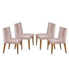 Kit-4-Cadeiras-de-Jantar-Estofada-Rose-em-Veludo-Dizayn