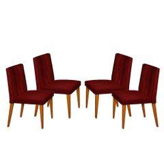Kit-4-Cadeiras-de-Jantar-Estofada-Bordo-em-Veludo-Dizayn
