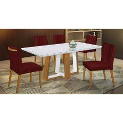 Kit-4-Cadeiras-de-Jantar-Estofada-Bordo-em-Veludo-Dizayn---Ambiente