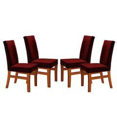 Kit-4-Cadeiras-de-Jantar-Estofada-Bordo-em-Veludo-Duz
