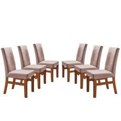 Kit-6-Cadeiras-de-Jantar-Estofada-Rose-em-Veludo-Duz