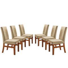 Kit-6-Cadeiras-de-Jantar-Estofada-Bege-em-Veludo-Duz