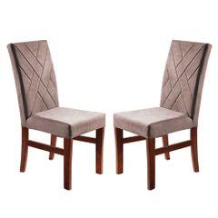 Kit-2-Cadeiras-de-Jantar-Estofada-Rose-em-Veludo-Elmas