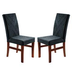 Kit-2-Cadeiras-de-Jantar-Estofada-Azul-em-Veludo-Elmas