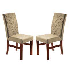 Kit-2-Cadeiras-de-Jantar-Estofada-Bege-em-Veludo-Elmas