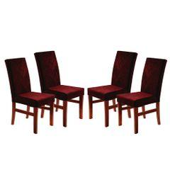 Kit-4-Cadeiras-de-Jantar-Estofada-Bordo-em-Veludo-Elmas