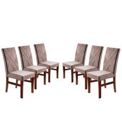 Kit-6-Cadeiras-de-Jantar-Estofada-Rose-em-Veludo-Elmas
