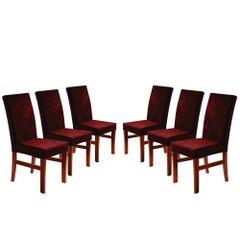 Kit-6-Cadeiras-de-Jantar-Estofada-Bordo-em-Veludo-Elmas