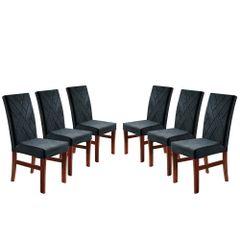 Kit-6-Cadeiras-de-Jantar-Estofada-Azul-em-Veludo-Elmas