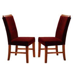 Kit-2-Cadeiras-de-Jantar-Estofada-Bordo-em-Veludo-Hatlar