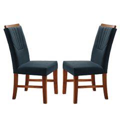Kit-2-Cadeiras-de-Jantar-Estofada-Azul-em-Veludo-Hatlar
