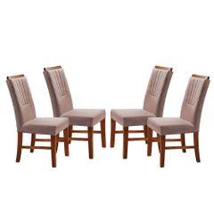 Kit-4-Cadeiras-de-Jantar-Estofada-Rose-em-Veludo-Hatlar