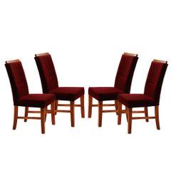 Kit-4-Cadeiras-de-Jantar-Estofada-Bordo-em-Veludo-Hatlar